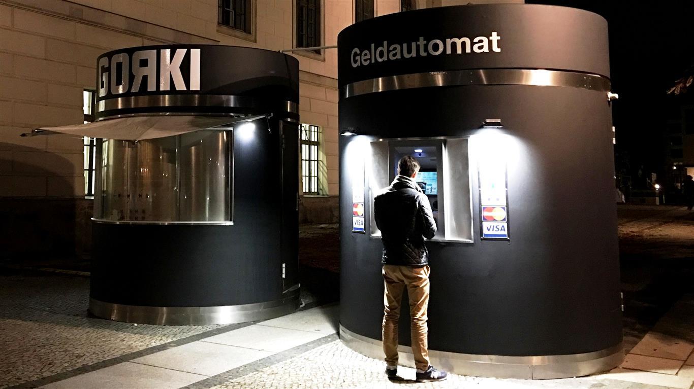 bboxx Geldautomat Window Unter den Linden