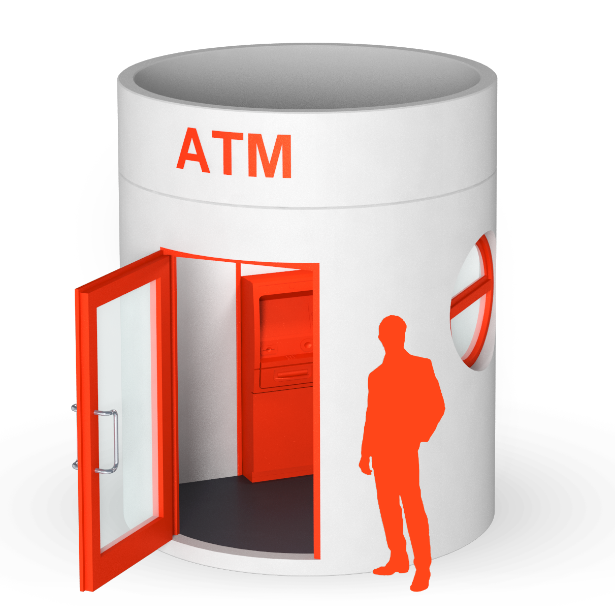 bboxx ATM 1 or 2 ATMs with anteroom