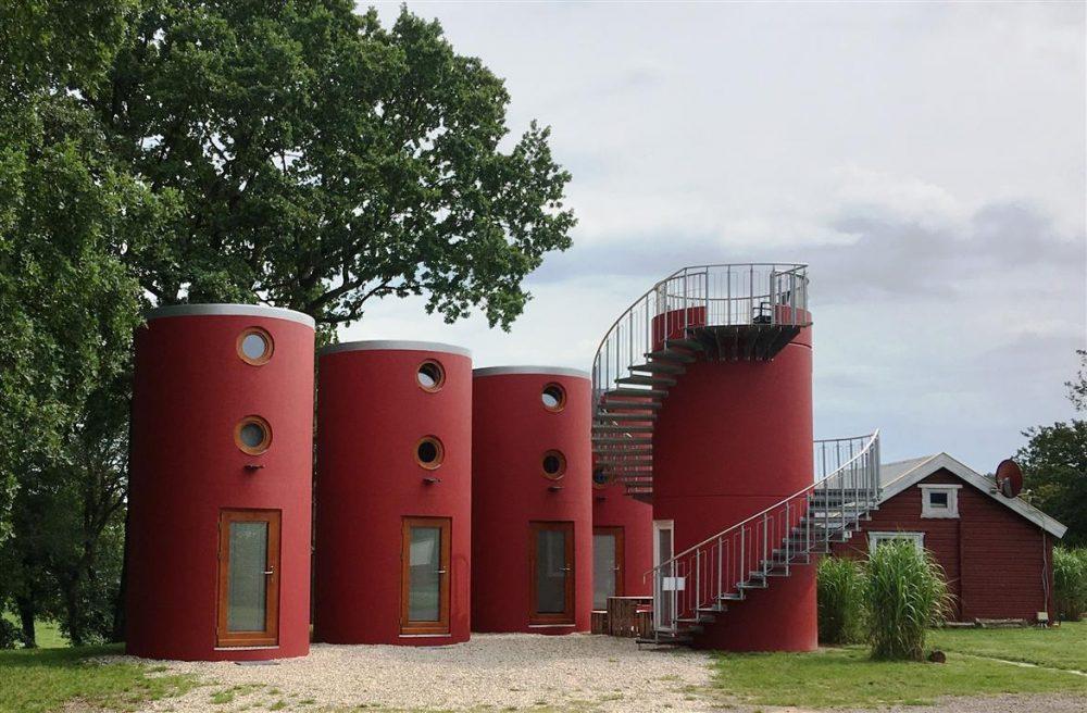 Veloform bboxx Hoteltower Formation Marina Coswig