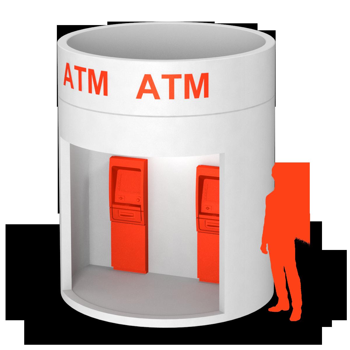 bboxx bboxx Geldautomat Vorraum offen