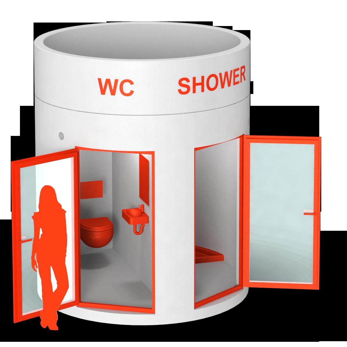 bboxx Sanitäranlage WC/Dusche