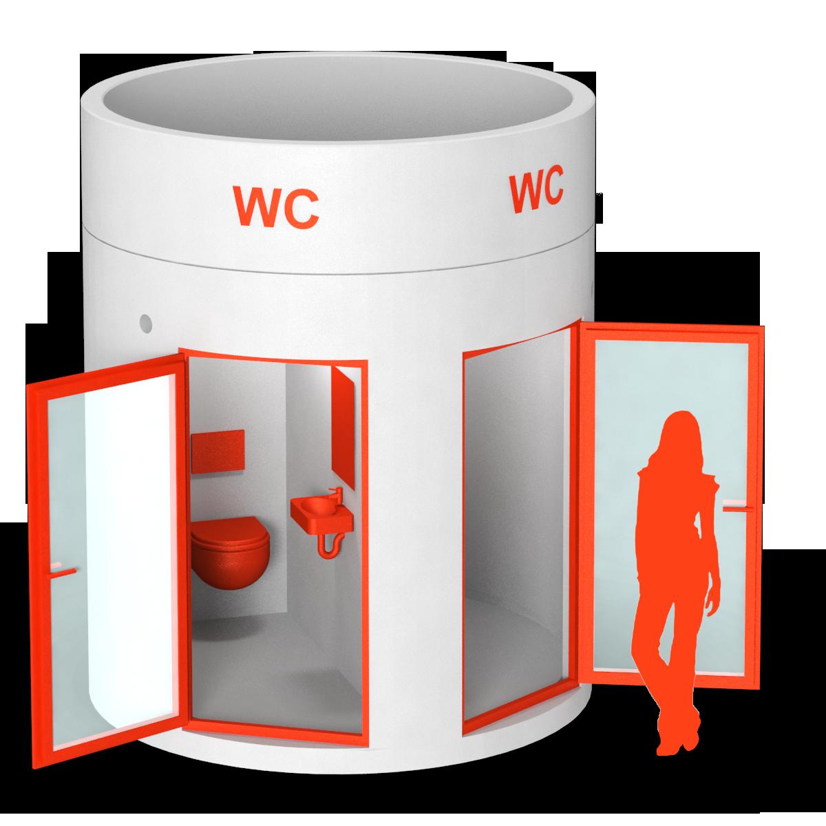 bboxx Mobile Toilette 2 WCs