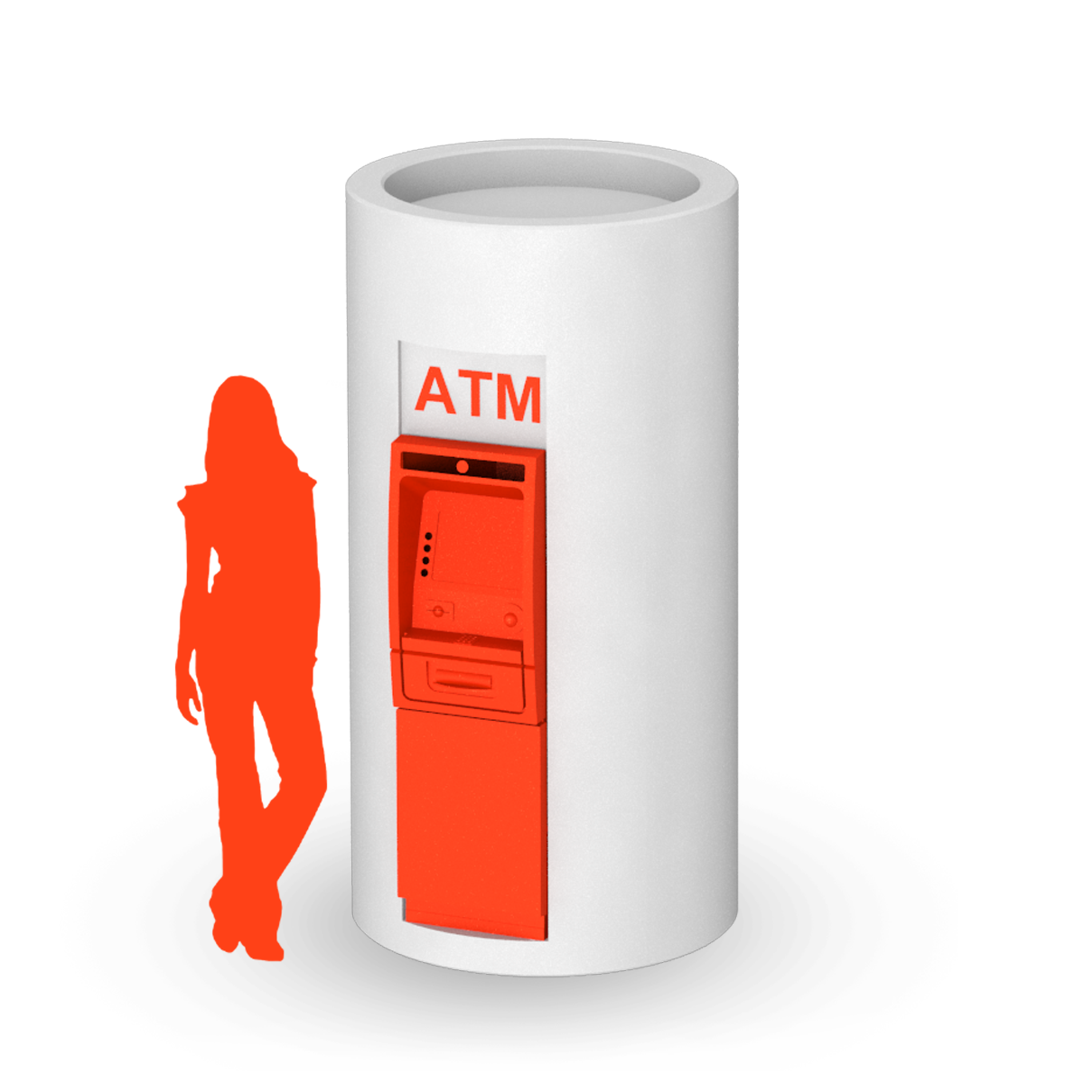ATM compact