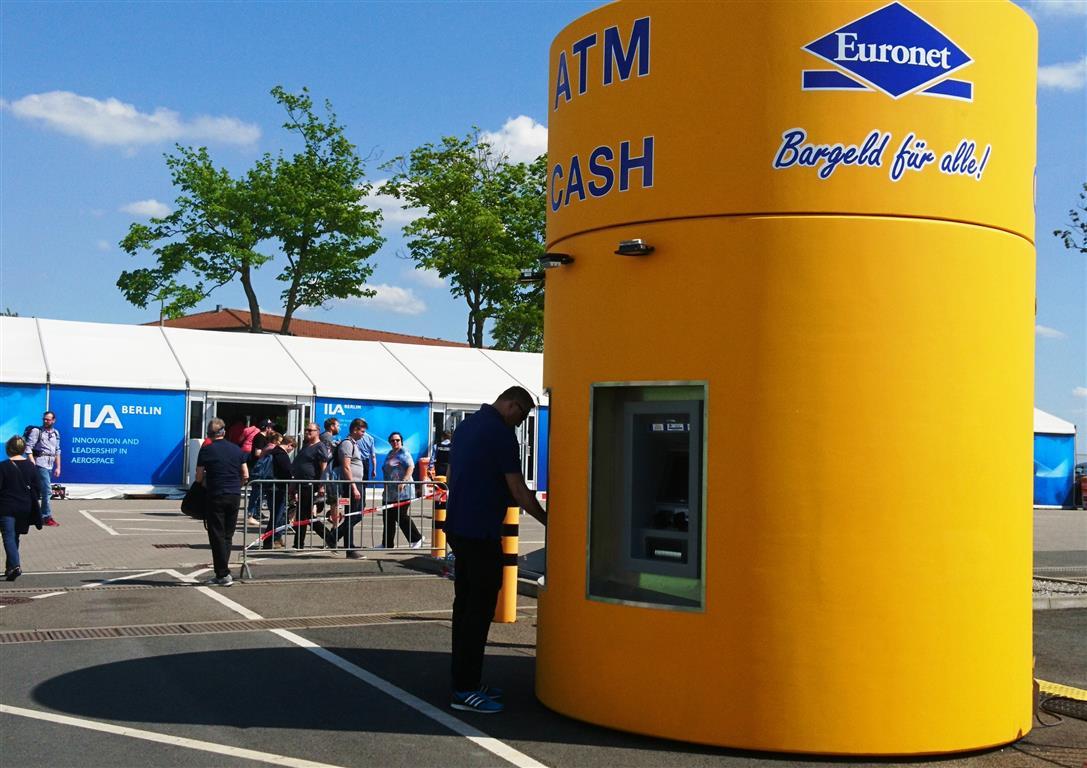 bboxx Geldautomat auf der ILA 2018