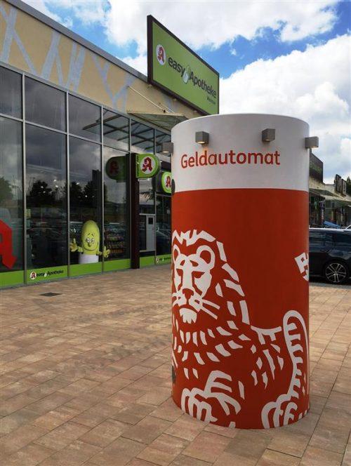 Mobiler Geldautomat bboxx Automat Compact von Veloform für ING DiBa in Weimar