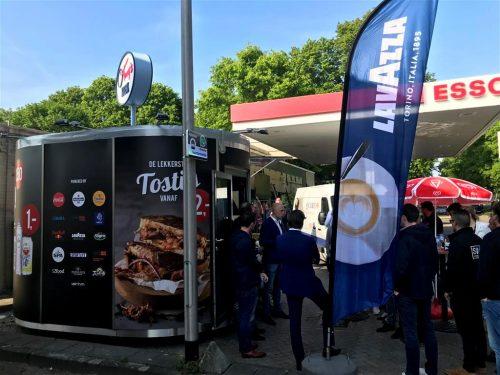Veloform bboxx Kiosk SYSTEM Leichbauweise haan tankstations