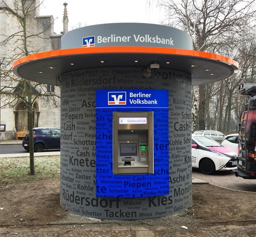 bboxx Geldautomat Window mit Vordach