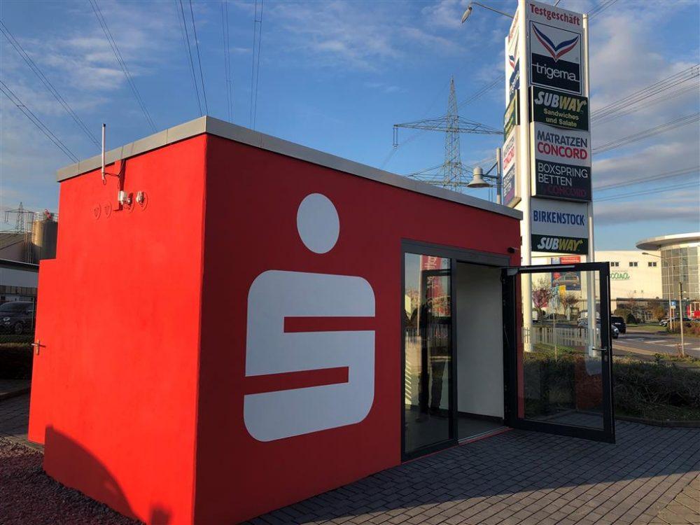 Veloform bboxx Geldautomat Rechteck Referenz Kreissparkasse Köln