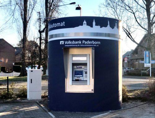 Veloform bboxx Geldautomat Window 1 ATM SB-Pavillon